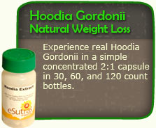 Hoodia Gordonii Natural Weight Loss